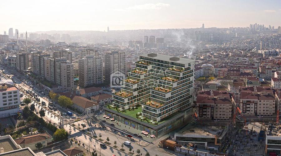 مجمع داماس 092 في اسطنبول  - صورة خارجية  05
