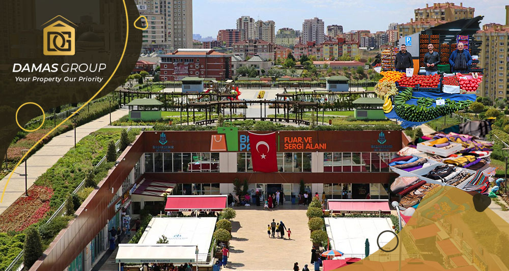 الأسواق الشعبية في منطقة باشاك شهير