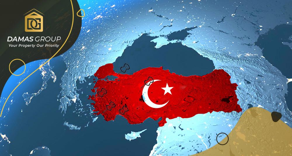 مناطق تركيا الأعلى سعرا في العقارات